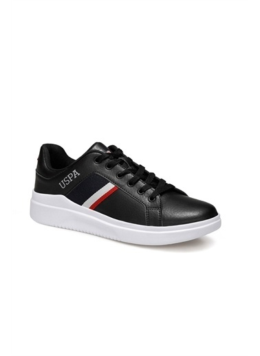 U.S. Polo Assn. 1Fx Erkek Sneaker Siyah